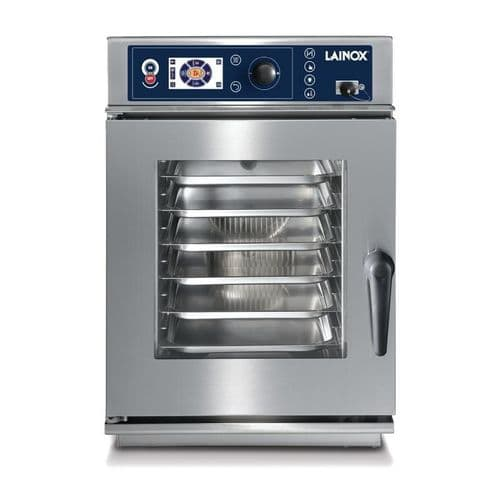 Lainox Compact 6 x 1/1GN Auto Interactive Cooking Injection Oven 3 Phase CEV061X