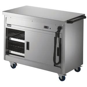 Lincat Panther 670 Series Hot Cupboard with Plain tops Width 1125mm