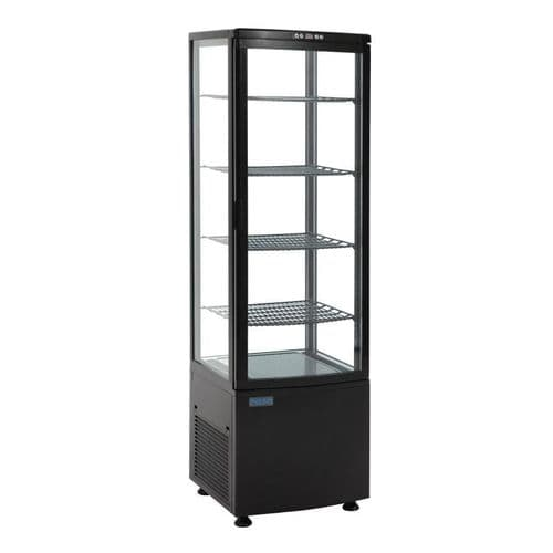 Polar Chilled Display with Curved Glass Door - DP289