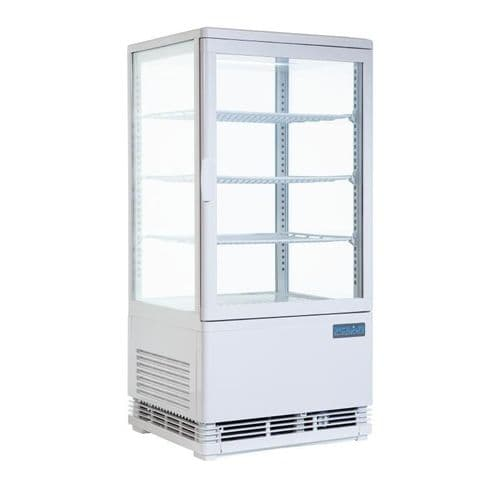 Polar Curved Door Display Fridge 86 Ltr - CB507