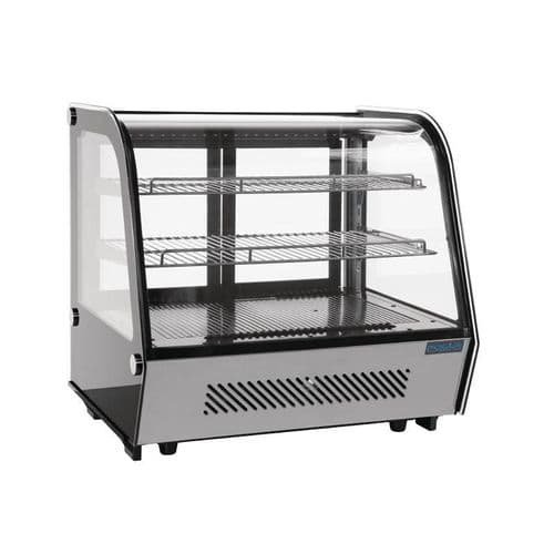Polar Refrigerated Countertop Display Chiller 160 Ltr - CD230
