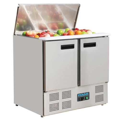 Polar Refrigerated Saladette Counter 240Ltr - G606