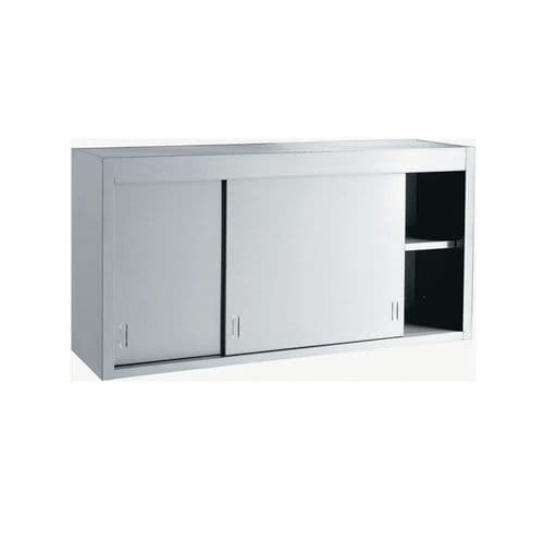 Stainless Steel Vogue Wall Cupboard - 1.2M - DL450