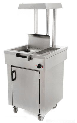 Archway CS1/E Heated Electric Chip Scuttle With Storage Cupboard - CS1/E