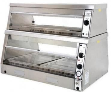 Archway HD3/2T Electric Heated Chicken Display 3 Pans/2 Tier
