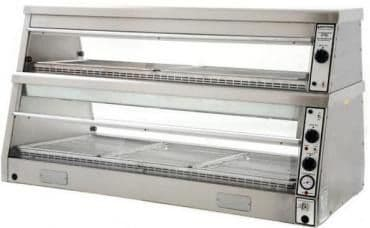 Archway HD5 Electric Heated Chicken Display 5 Pans/2 Tier