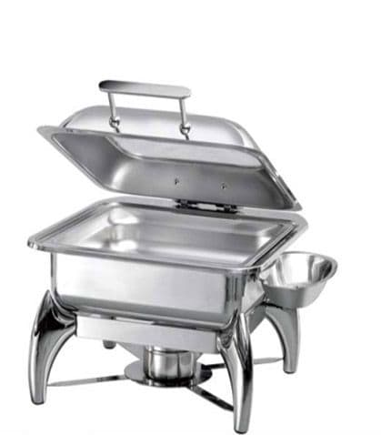 Atosa Chafing Dish - 2/3 GN, with Glass Lid & Spirit Stove - S62293