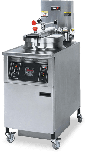 BKI Electric Chicken Pressure Fryer with Manual Controls - LPF-F