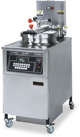 BKI Electric Chicken Pressure Fryer with Touchpad Controls - LPF-FC