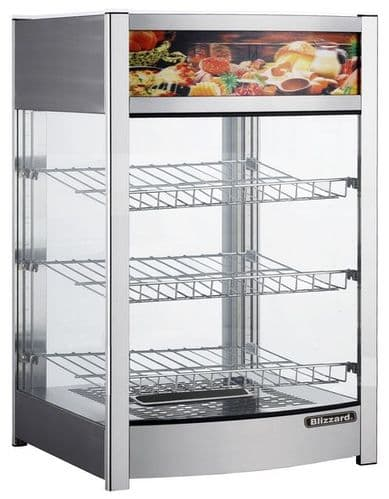 Blizzard Counter Top Heated Display - CTH137