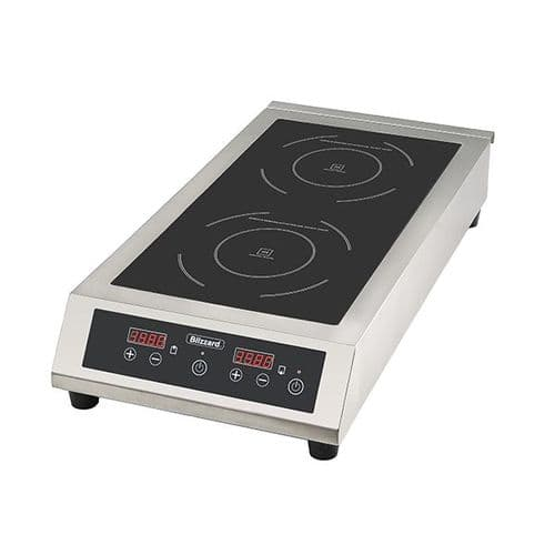 Blizzard Double Induction Hob 6000W - BIH2