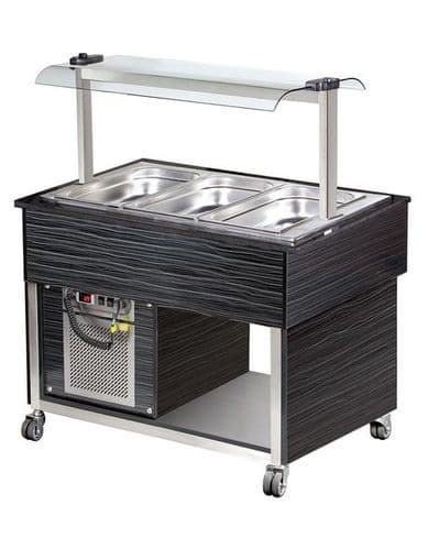 Blizzard Refrigerated Buffet Display - BB3-COLD