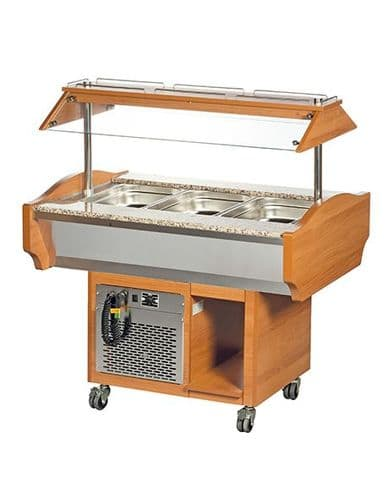 Blizzard Refrigerated Buffet Display - GB3-COLD