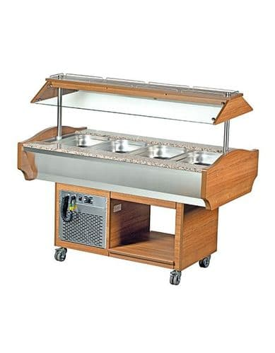 Blizzard Refrigerated Buffet Display - GB4-COLD