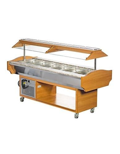 Blizzard Refrigerated Buffet Display - GB6-COLD