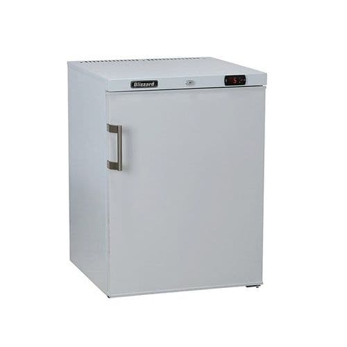 Blizzard Under Counter White Laminated Refrigerator 145L - UCR140WH