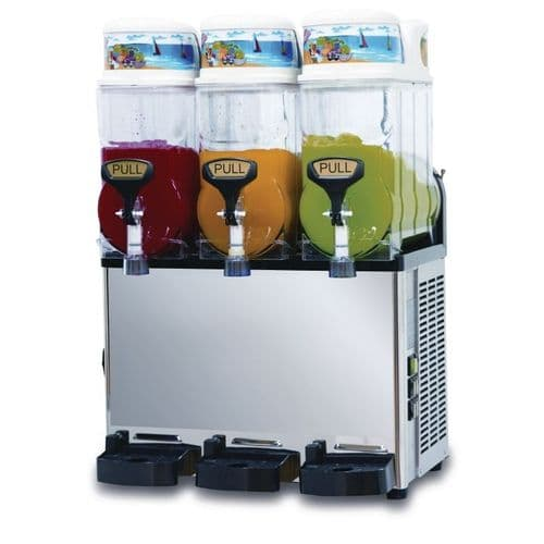 Blue Ice Triple Canister Slush Machine ST12X3 - GK926