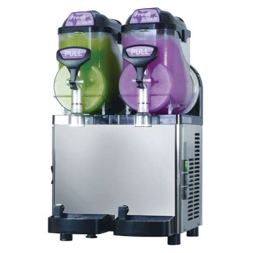 Blue Ice Twin Canister Slush Machine M17 5X2 - GK924