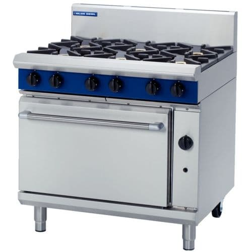 Blue Seal Natural Gas Range G506D-NAT - F245-N