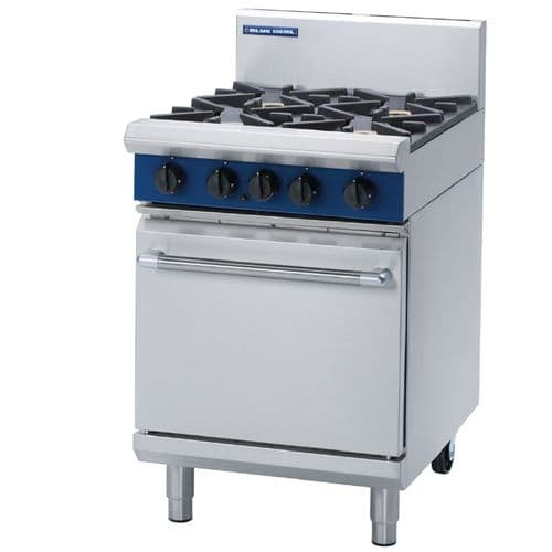 Blue Seal Static Natural Gas Range G504D-NAT - G020-N