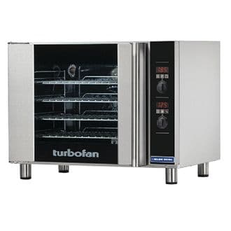 Blue Seal Turbofan Electric Convection Oven - 4 x GN 1/1