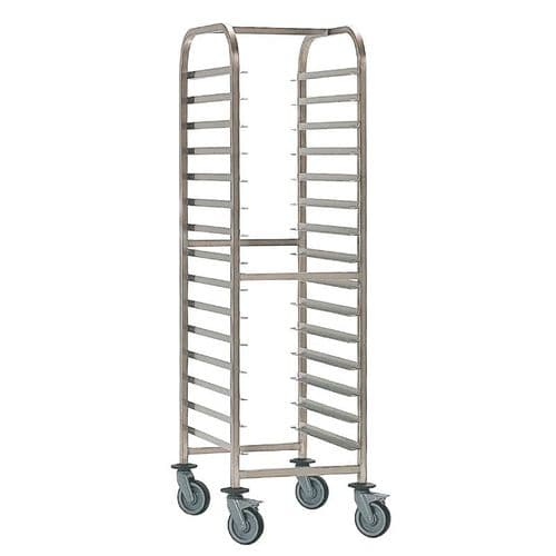 Bourgeat Patisserie Racking Trolley 20 Shelves - P060