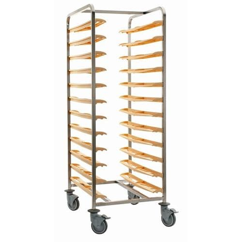 Bourgeat Self Clearing Cafeteria Trolley - CC380