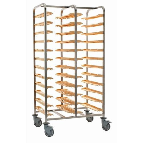 Bourgeat Self Clearing Trolley - Double - P167