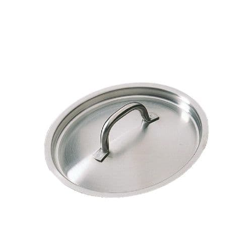 Bourgeat Stainless Steel Saucepan Lid 400mm - K838