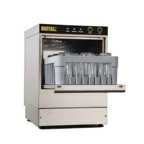 Buffalo Compact Glasswasher 350x350mm Baskets - DW464