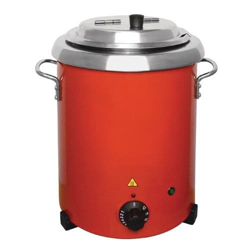 Buffalo Red Soup Kettle with Handles - GH227