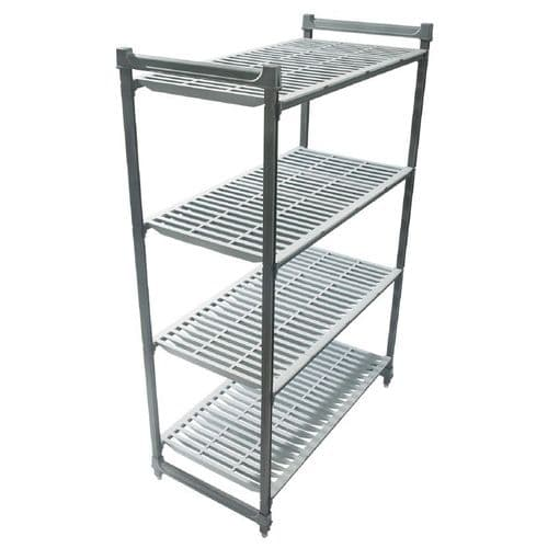 Cambro Camshelving Basics Vented 4 Shelf Unit 1530mm - GH619