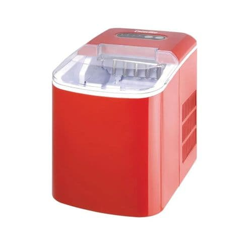 Caterlite Countertop Manual Fill Ice Machine Red - DA257