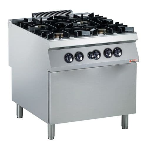 CEP Modular Cooking Eco 90 4-Burner Gas Oven - 393006