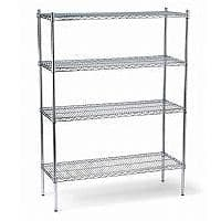 Chrome Wire Shelving and Racking