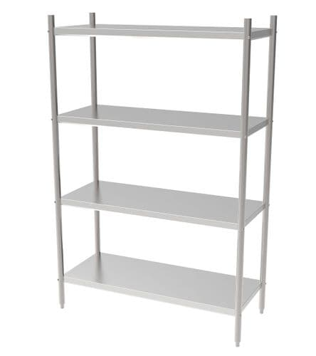 Combisteel Solid Shelving System 1500mm Wide Flat Pack - 7490.0250