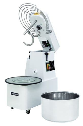 Combisteel Spiral Dough Mixer with Removable Bowl 22 Litre - 7485.0100
