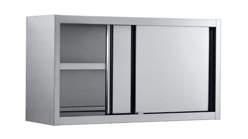 Combisteel Wall Cupboard With Sliding Doors 1600mm Wide - 7452.3230