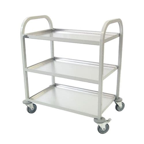 Craven Enamelled Clearing Trolley - CE981