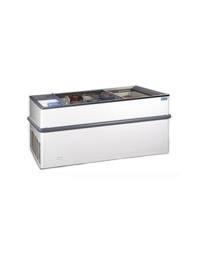 Crystal Island Display Freezer - CRYSTALLITE15