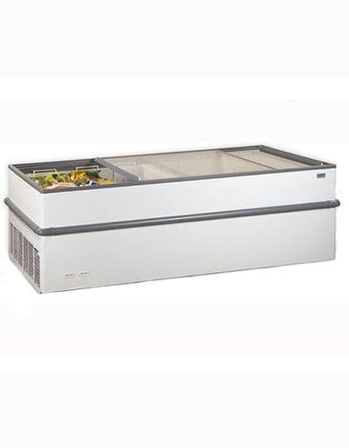 Crystal Island Display Freezer - CRYSTALLITE20