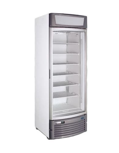 Crystal Single Glass Door Freezer - GDS400CV