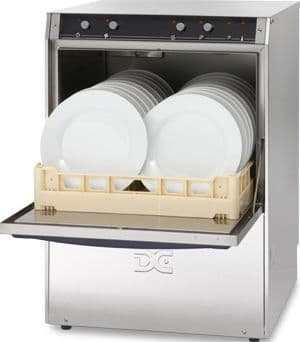 DC Standard Range SD50ISD Dishwasher with Integral Softener and Drain Pump  500mm Rack 18 Plates