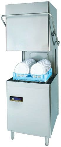 DC Standard Range SD900CP-IS Passthrough Dishwasher with Water Softener  500mm Rack 18 Plates