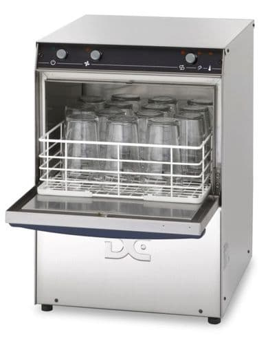DC Standard Range SGP35ISD Tall Glasswasher with Integral Softener & Drain Pump 14 Pint Capacity