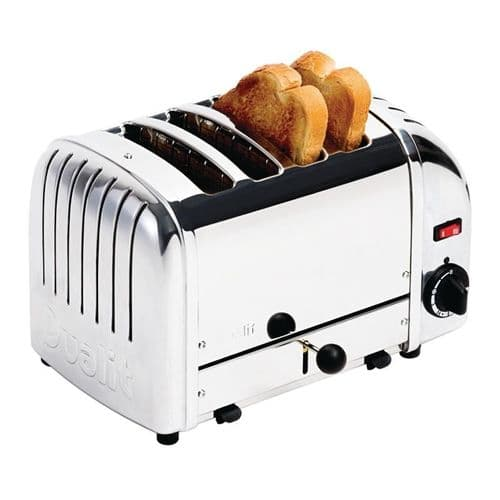 Dualit Bread Toaster 4 Slice Stainless 40352 - F209