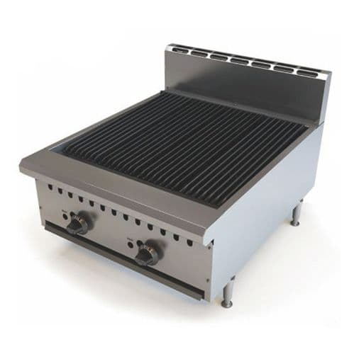 Empire Charbroiler Natural Gas with LPG Conversion Kit 615mm - EMP-BB24MCE