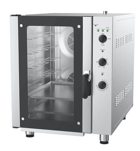 Empire Combi Steam Oven 6 x 1/1 GN Grid 176 Litre - EMP-H706