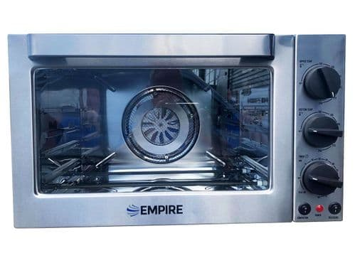 Empire Convection Oven 42 Ltr Fan Assisted with Rotisserie Function - EMP-H742K+1