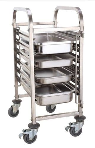 Empire Stainless Steel 6 Tier GN 1/1 Trolley - EMP-RT1106